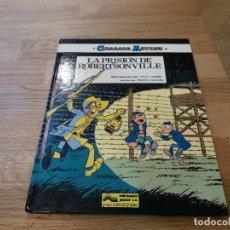 Cómics: LA PRISIÓN DE ROBERTSONVILLE. CASACAS AZULES. N° 6. JUNIOR. GRIJALBO. 1986. LAMBIL Y CAUVIN. Lote 108782883