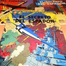 Cómics: EL SECRETO DEL ESPADON. LAS AVENTURAS DE BLAKE Y MORTIMER. TRES TOMOS DE 1987. EXCELENTE ESTADO.. Lote 108905631