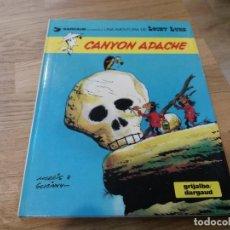 Cómics: CANYON APACHE. LUCKY LUKE. GRIJALBO DARGAUD. N° 17. 1981. BUEN ESTADO. MORRIS.. Lote 109074779