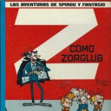 Cómics: FRANQUIN - LAS AVENTURAS DE SPIROU Nº 17 - Z COMO ZORGLUB - JUNIOR 1986 - TAPA DURA - EL DE LA FOTO. Lote 109111623