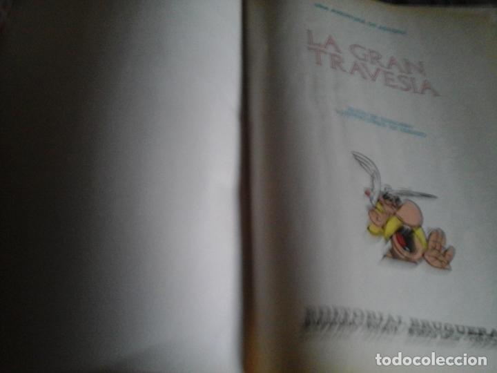 Cómics: ASTERIX Y OBELIX LA GRAN TRAVESÍA. PILOTE BRUGUERA 1975 1 EDICIÓN - Foto 5 - 109130259