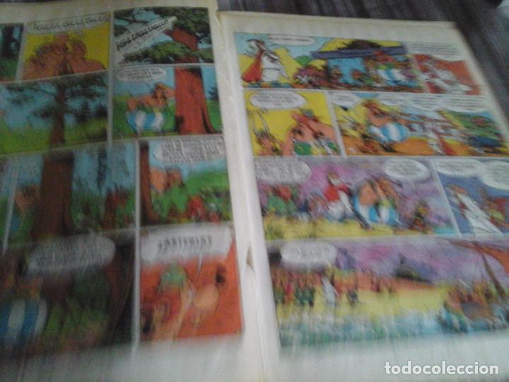 Cómics: ASTERIX Y OBELIX LA GRAN TRAVESÍA. PILOTE BRUGUERA 1975 1 EDICIÓN - Foto 6 - 109130259