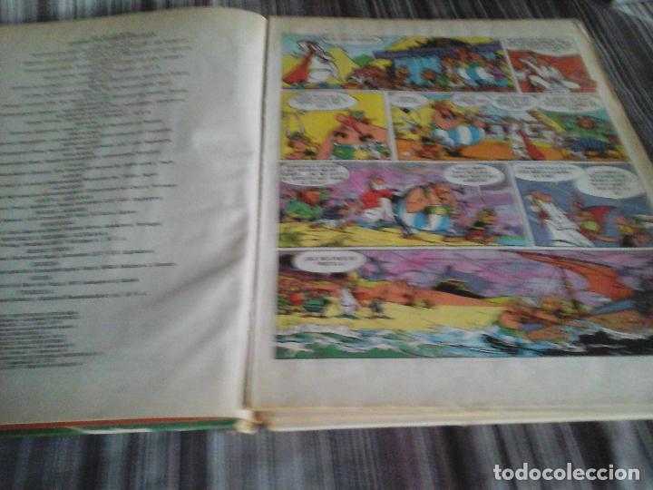 Cómics: ASTERIX Y OBELIX LA GRAN TRAVESÍA. PILOTE BRUGUERA 1975 1 EDICIÓN - Foto 8 - 109130259