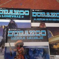 Comics : LOTE DE 3 CÓMICS DURANGO. Lote 109255603