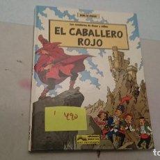 Cómics: EL CABALLERO ROJO LAS AVENTURAS DE OSCAR Y JULIAN BOB DE MOOR ED. GRIJALBO. Lote 109269591