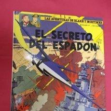 Comics : LAS AVENTURAS DE BLAKE Y MORTIMER. Nº 9. EL SECRETO DEL ESPADÓN. 1ª PARTE. GRIJALBO. Lote 109310139