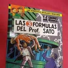 Comics : LAS AVENTURAS DE BLAKE Y MORTIMER. Nº 12. LAS 3 FORMULAS DEL PROF. SATO. 2ª PARTE. GRIJALBO. Lote 109310699