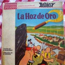 Cómics: ASTERIX Y LA HOZ DE ORO, EDITORIAL MOLINO AÑO 1966 TAPAS DURAS. Lote 109381707
