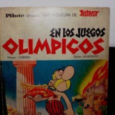 Cómics: ASTERIX EN LOS JUEGOS OLIMPICOS AÑO 1968 RARO LEER. Lote 109482567