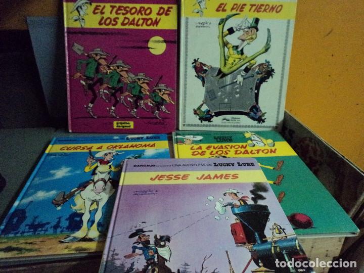 CINCO COMICS DE LUCKY LUKE (Tebeos y Comics - Grijalbo - Lucky Luke)