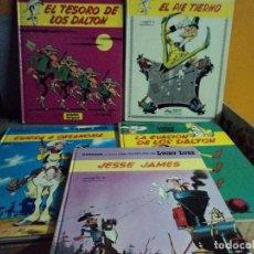 Cómics: CINCO COMICS DE LUCKY LUKE. Lote 109519179
