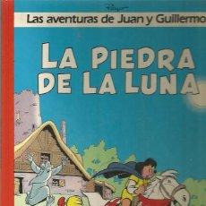 Cómics: JUAN Y GUILLERMO Nº 4 - LA PIEDRA DE LA LUNA - PEYO - GRIJALBO -TAPA DURA. Lote 109588027