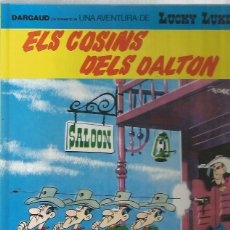 Cómics: LUCKY LUKE Nº 48 - ELS COSINS DELS DALTON - MORRIS - GRIJALBO - TAPA DURA - MUY BUEN ESTAD0. Lote 109589751