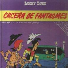 Cómics: LUCKY LUKE Nº 54 - CACERA DE FANTASMES - MORRIS - GRIJALBO - TAPA DURA - MUY BUEN ESTADO. Lote 109590083