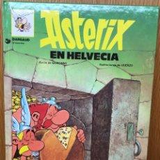 Cómics: ASTERIX EN HELVECIA - DARGAUD - GOSCINNY Y UDERZO - GRIJALBO TAPA DURA - AÑO 1997 . Lote 109602191