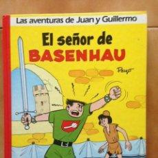 Comics: LAS AVENTURAS DE JUAN Y GUILLERMO : EL SEÑOR DE BASENHAU - ED. JUNIOR GRIJALBO PRIMERA EDICIÓN 1986. Lote 284599798