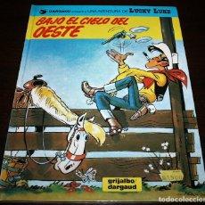Cómics: LUCKY LUKE - BAJO EL CIELO DEL OESTE - GRIJALBO/DARGAUD - 1993. Lote 110156651