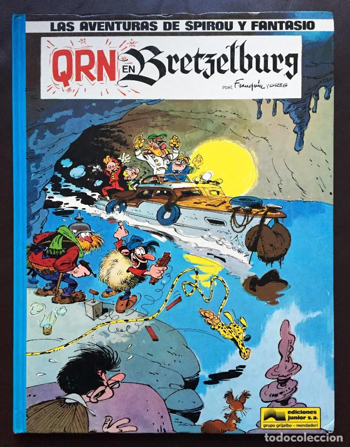 LAS AVENTURAS DE SPIROU Y FANTASIO 14 QRN EN BRETZELBURG EDICIONES JUNIOR GRIJALBO 1990 TAPA DURA (Tebeos y Comics - Grijalbo - Spirou)