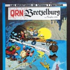 Cómics: LAS AVENTURAS DE SPIROU Y FANTASIO 14 QRN EN BRETZELBURG EDICIONES JUNIOR GRIJALBO 1990 TAPA DURA . Lote 110407731