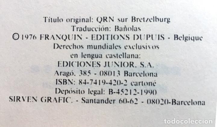 Cómics: Las Aventuras de SPIROU y Fantasio 14 QRN en BRETZELBURG Ediciones Junior Grijalbo 1990 Tapa Dura - Foto 2 - 110407731