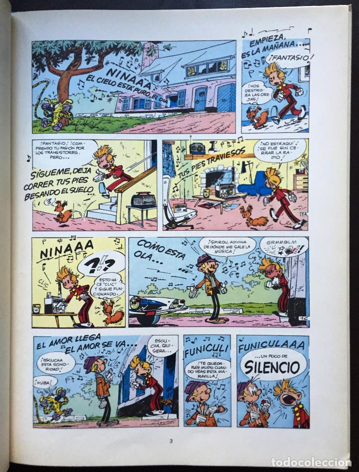 Cómics: Las Aventuras de SPIROU y Fantasio 14 QRN en BRETZELBURG Ediciones Junior Grijalbo 1990 Tapa Dura - Foto 3 - 110407731