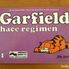 Cómics: JIM DAVIS - GARFIELD HACE RÉGIMEN - Nº11 - GRIJALBO. Lote 110421431