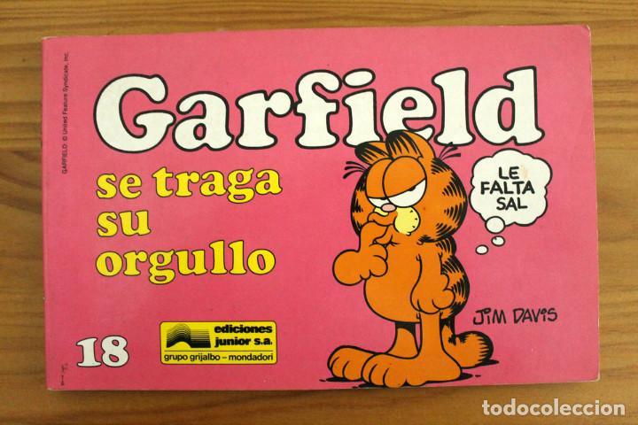 JIM DAVIS - GARFIELD SE TRAGA SU ORGULLO - Nº18 - GRIJALBO (Tebeos y Comics - Grijalbo - Otros)