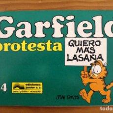 Cómics: JIM DAVIS - GARFIELD PROTESTA - Nº24 - GRIJALBO. Lote 110421475