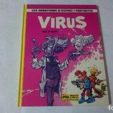 Cómics: VIRUS SPIROY Y FANTASIO (EN CATALÁN). Lote 110629903