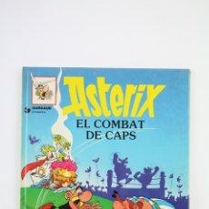 Cómics: CÓMIC TAPA DURA EN CATALAN - ASTÈRIX EL COMBAT DE CAPS Nº 10 -EDITORIAL GRIJALBO-DARGAUD , AÑO 1984. Lote 110642659