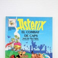 Cómics: CÓMIC TAPA DURA BILINGÜE CATALÁN INGLES -ASTÈRIX EL COMBAT DE CAPS Nº 10 -GRIJALBO-DARGAUD, AÑO 1996. Lote 110643007