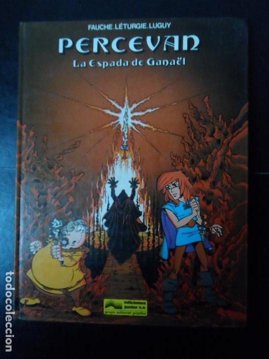 PERCEVAN. Nº 3. LA ESPADA DE GANAËL EDITORIAL JUNIOR GRIJALBO TAPA DURA (Tebeos y Comics - Grijalbo - Percevan)
