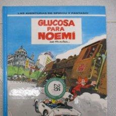 Cómics: LAS AVENTURAS DE SPIROU Y FANTASIO - GLUCOSA PARA NOEMI Nº 34 - GRIJALBO - JUNIOR. Lote 110908015
