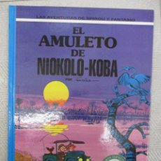 Cómics: LAS AVENTURAS DE SPIROU Y FANTASIO - EL AMULETO DE NIOKOLO - KOBA Nº 37 - GRIJALBO - JUNIOR. Lote 122085687