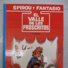 Cómics: LAS AVENTURAS DE SPIROU Y FANTASIO - EL VALLE DE LOS PROSCRITOS Nº 27 - GRIJALBO - JUNIOR. Lote 110908647