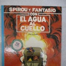 Cómics: LAS AVENTURAS DE SPIROU Y FANTASIO - CON EL AGUA AL CUELLO Nº 26 - GRIJALBO - JUNIOR. Lote 110911143