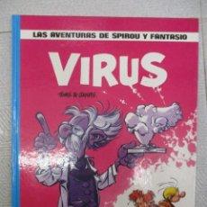 Cómics: LAS AVENTURAS DE SPIROU Y FANTASIO - VIRUS Nº 19 - GRIJALBO - JUNIOR. Lote 110912619