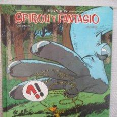 Cómics: SPIROU Y FANTASIO - VOLUMEN 5 PLANETA DEAGOSTINI AÑOS 6 HISTORIETAS DEL 1956 AL 1958. Lote 118347979