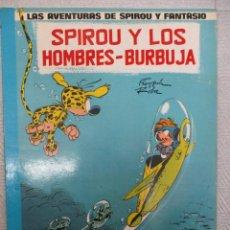 Cómics: LAS AVENTURAS DE SPIROU Y FANTASIO - LOS HOMBRES BURBUJA Nº 13 - GRIJALBO - JUNIOR. Lote 110958111