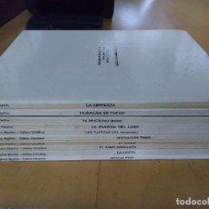 Cómics: LEFRANC. MARTIN Y CHAILLET. COLECCIÓN COMPLETA. 10 NUM. ED GRIJALBO-JUNIOR 1986-89. PERFECTO ESTADO.. Lote 110959811