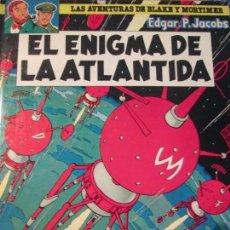 Cómics: BLAKE AND MORTIMER--EL ENIGMA DE LA ATLANTIDA. Lote 111181847