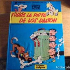 Cómics: LUCKY LUKE SOBRE LA PISTA DE LOS DALTON - Nº 34 - GRIJALBO DARGAUD 1987 - STOCK LIBRERIA !!!. Lote 111502731