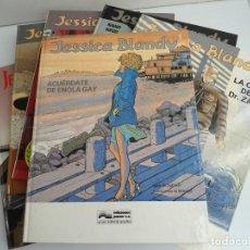 Cómics: JESSICA BLANDY - COLECCION COMPLETA 8 NUMEROS - EDICIONES GRIJALBO - 1989 - EXCELENTE ESTADO. Lote 111585587
