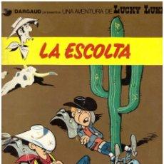 Cómics: COMIC LUCKY LUKE: LA ESCOLTA - MORRIS & GOSCINNY; GRIJALBO/DARGAUD, TAPA BLANDA. Lote 111731071