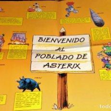 Cómics: FOLLETO PÓSTER ASTÉRIX + ASTÉRIX EL GALO Nº 1 + OBÉLIX Y COMPAÑÍA Nº 23 - SALVAT DARGAUD POR TUTATIS. Lote 111743535