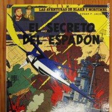 Cómics: EL SECRETO DEL ESPADON 3 PARTE. Lote 111757019
