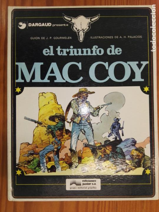 EL TRIUNFO DE MAC COY (Tebeos y Comics - Grijalbo - Mac Coy)