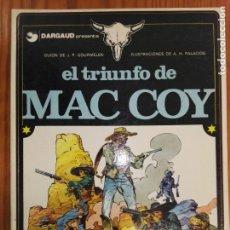 Cómics: EL TRIUNFO DE MAC COY. Lote 111757755