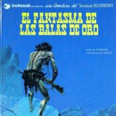 EL FANTASMA DE LAS BALAS DE ORO E. JUNIOR Nº2 CHARLIER GIRAUS/MOEBIUS 1972 ARM ISA FONDO 2ªFILA
