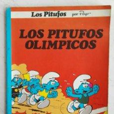 Cómics: LOS PITUFOS OLÍMPICOS EDITORIAL GRIJALBO. Lote 112177247